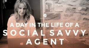 A day in the life of a social savvy estate agent.